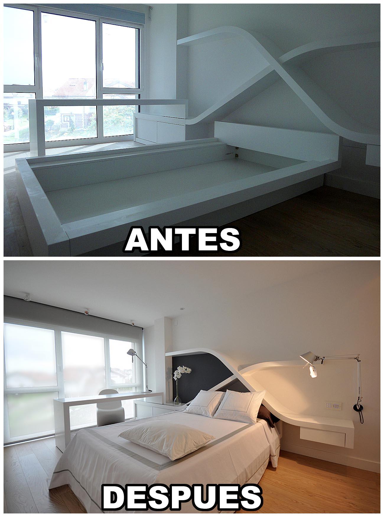 reforma piso contemporáneo cantabria, reforma de pisos