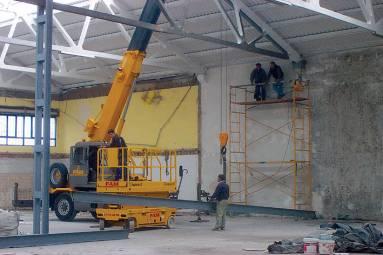 Reforma nave en Santander Cantabria - Construcciones Montoya e hijos