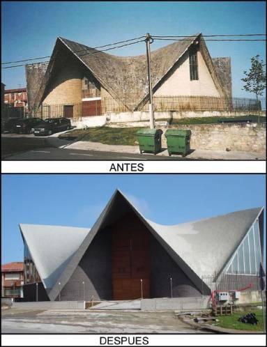 Reforma integral edificio Santander (Cantabria) Construcciones Montoya e hijos