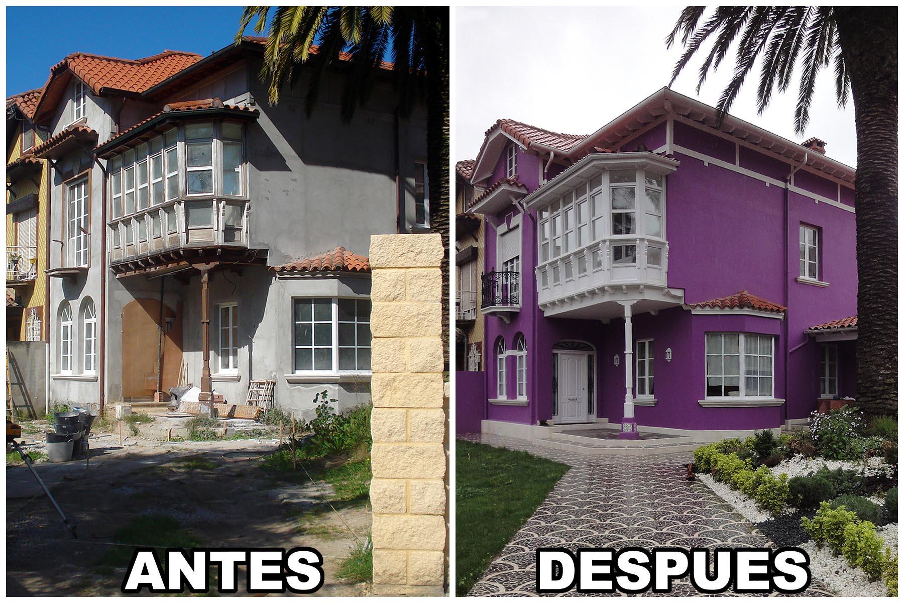 Rehabilitación casa en Santander (Cantabria) - Construcciones Montoya