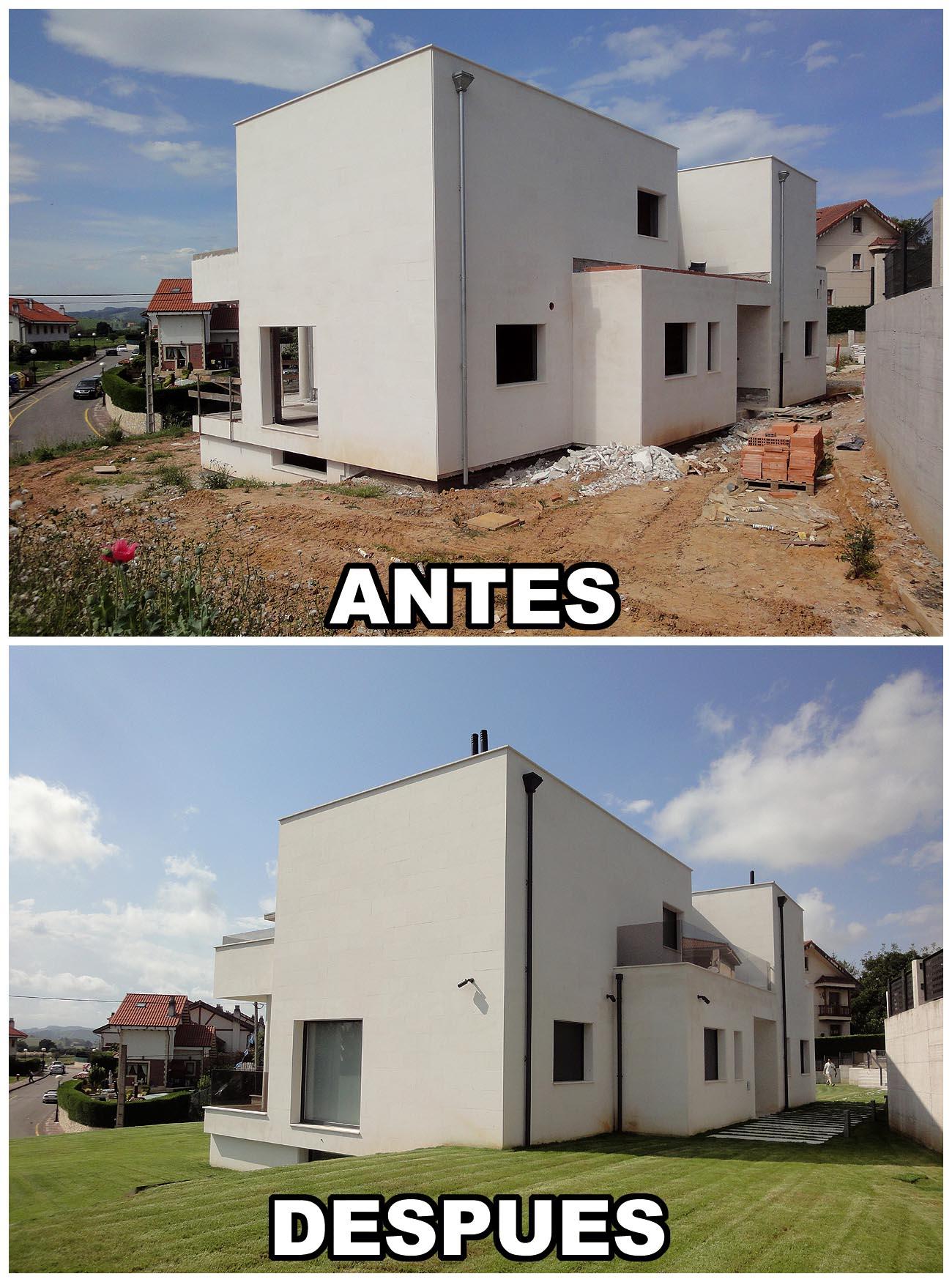 Construcción Casa en Santander (Cantabria) Construcciones Montoya