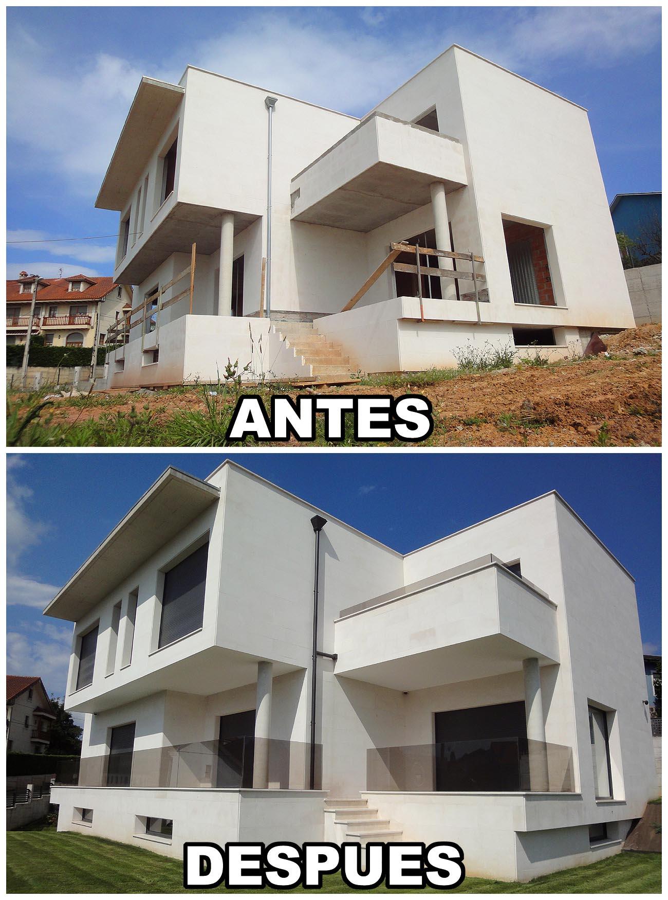 construcci n casa moderna en santander cantabria a