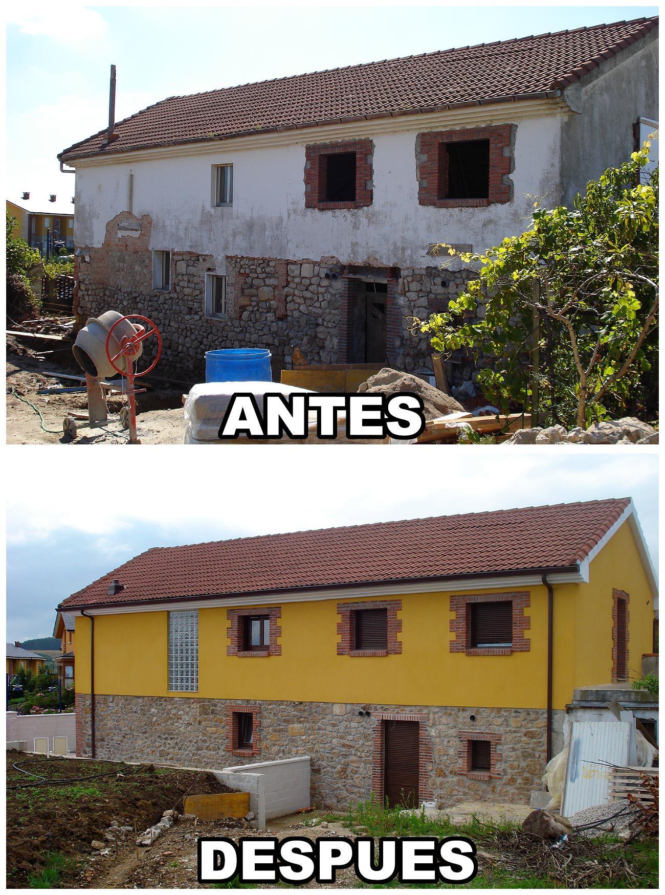 Rehabilitaci n casa de piedra en santander cantabria a - Construccion casa de piedra ...