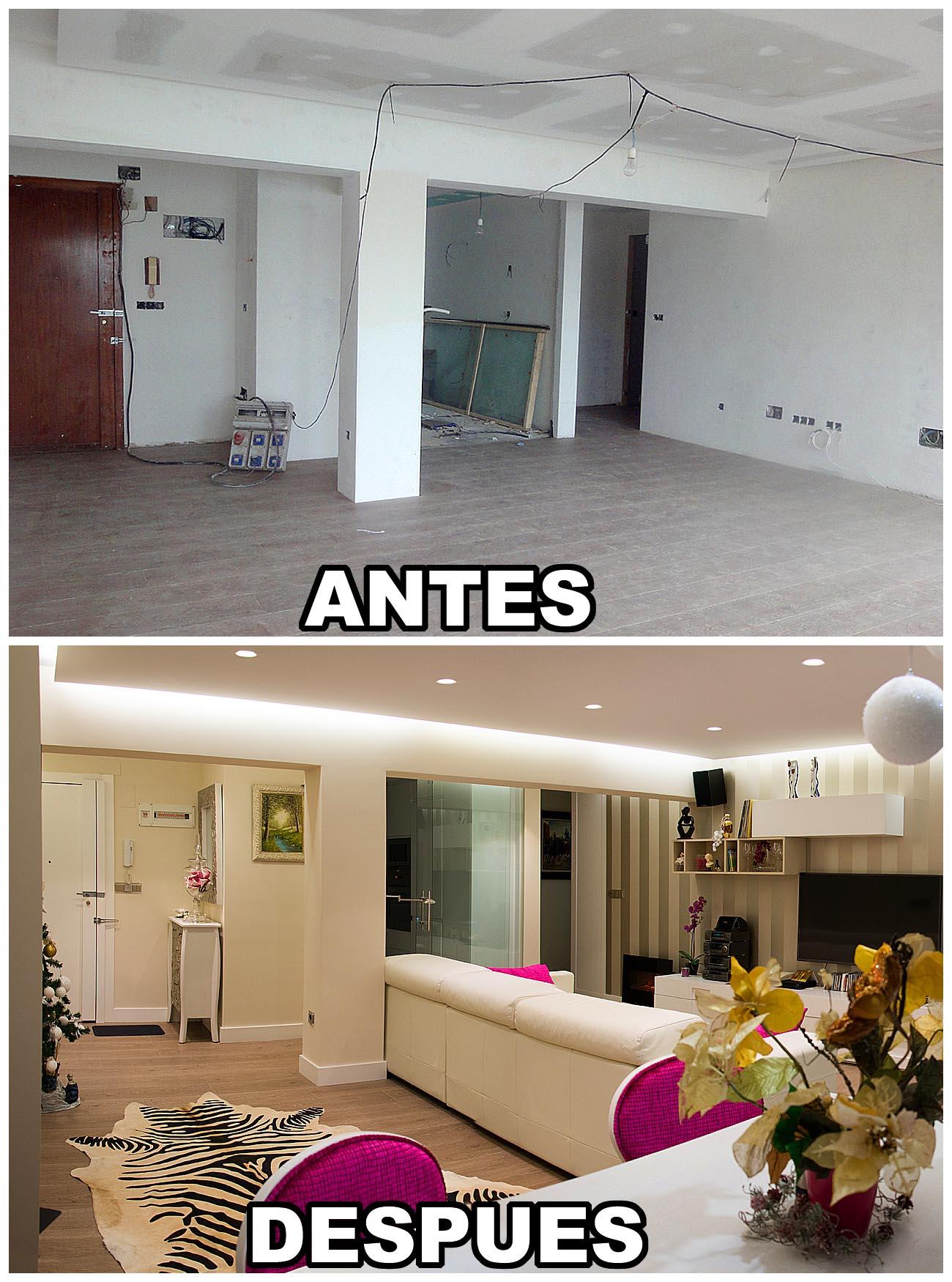 Reforma piso con gran gusto cantabria reforma piso con - Fotos de reformas ...