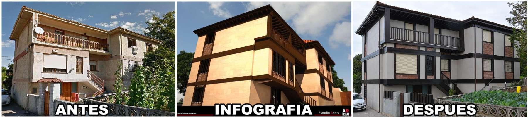 Reforma Casa Piedra y Madera - Construcciones Montoya