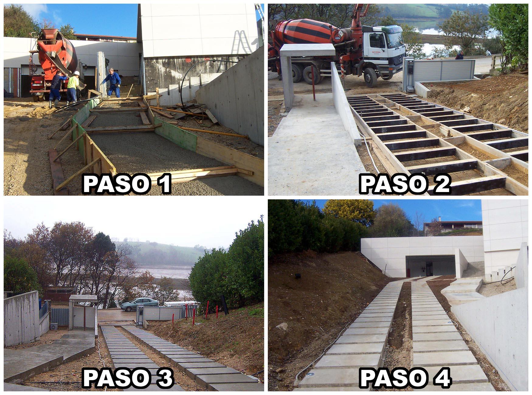 Trabajos urbanización en Cantabria - Construcciones Montoya